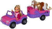 Кукла Simba Evi Jeep and Trailer 5737460