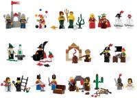Фото - Конструктор Lego Fairytale and Historic Minifigure Set 9349