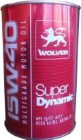 Моторное масло Wolver Super Dynamic 15W-40 1L