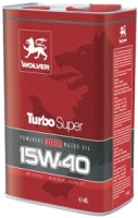 Моторное масло Wolver Turbo Super 15W-40 4L