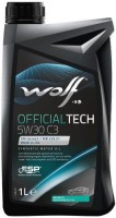 Моторное масло WOLF Officialtech 5W-30 C3 1L