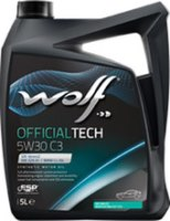 Моторное масло WOLF Officialtech 5W-30 C3 5L