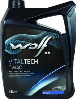 Моторное масло WOLF Vitaltech 5W-40 5L