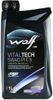 Моторное масло WOLF Vitaltech 5W-40 PI C3 1L