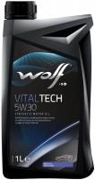 Моторное масло WOLF Vitaltech 5W-30 1L