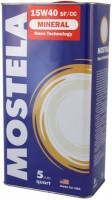 Моторное масло Mostela Mineral 15W-40 5L
