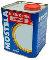 Моторное масло Mostela Super Diesel 15W-40 1L