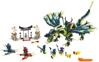 Фото - Конструктор Lego Attack of the Morro Dragon 70736