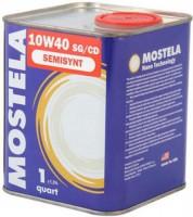 Моторное масло Mostela Semisynt 10W-40 1L