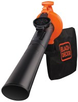 Садовая воздуходувка-пылесос Black&Decker GW2500