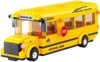 Фото - Конструктор Sluban School Bus with Middle School M38-B0333