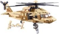 Фото - Конструктор Sluban Black Hawk Helicopter M38-B0509