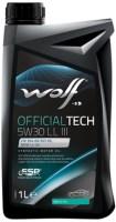 Моторное масло WOLF Officialtech 5W-30 LL-III 1L