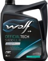 Моторное масло WOLF Officialtech 5W-30 LL-III 4L
