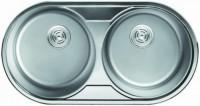 Кухонная мойка Cristal Roma Duo UA7106ZS