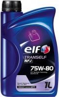 Трансмиссионное масло ELF Tranself NFJ 75W-80 1L