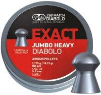 Пули и патроны JSB Diabolo Exact Jumbo Heavy 5.52 mm 1.17 g 250 pcs