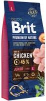 Корм для собак Brit Premium Junior L 15 kg