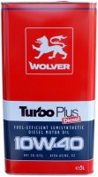 Моторное масло Wolver Turbo Plus 10W-40 5L