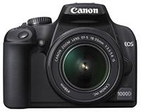 Фото - Фотоаппарат Canon EOS 1000D Kit 18-55