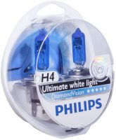 Автолампа Philips H4 DiamondVision 2pcs
