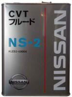 Трансмиссионное масло Nissan CVT Fluid NS-2 4L