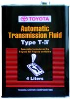 Трансмиссионное масло Toyota ATF Type T-IV 4L