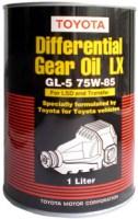 Трансмиссионное масло Toyota Differential Gear Oil LX LSD 75W-85 1L