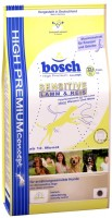 Фото - Корм для собак Bosch Sensitive Lamb/Rice 3 kg