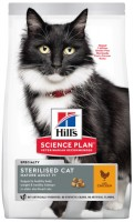 Корм для кошек Hills SP Feline Adult 7+ Sterilised Chicken 3.5 kg
