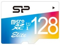 Карта памяти Silicon Power Elite Color microSDXC UHS-1 Class 10 128Gb