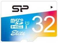 Фото - Карта памяти Silicon Power Elite Color microSDHC UHS-1 Class 10 32Gb