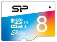 Фото - Карта памяти Silicon Power Elite Color microSDHC UHS-1 Class 10 8Gb