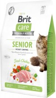 Фото - Корм для кошек Brit Care Angel I am Delighted Senior 7 kg