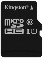 Карта памяти Kingston microSDHC UHS-I U1 Class 10 16Gb