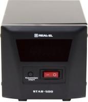 Фото - Стабилизатор напряжения REAL-EL STAB-500