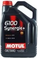 Фото - Моторное масло Motul 6100 Synergie+ 5W-40 4L