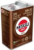 Моторное масло Mitasu Gold SN 5W-30 4L