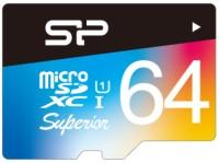 Фото - Карта памяти Silicon Power Superior Color microSDXC UHS-1 Class 10 64Gb