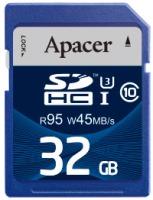 Фото - Карта памяти Apacer SDHC UHS-I 95/45 Class 10 32Gb