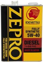 Моторное масло Idemitsu Zepro Diesel 5W-40 4L