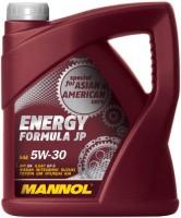 Моторное масло Mannol Energy Formula JP 5W-30 4L