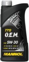 Моторное масло Mannol 7713 O.E.M. 5W-30 1L