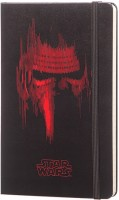 Блокнот Moleskine Star Wars VII Ruled Notebook Black