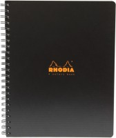 Ежедневник Rhodia 4 Colors Book Black