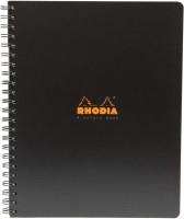 Фото - Ежедневник Rhodia 4 Colors Book Black