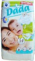 Подгузники Dada Premium Extra Soft 4 / 54 pcs