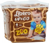 Подгузники Libero Up and Go Zoo Collection 4 / 18 pcs