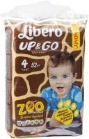 Фото - Подгузники Libero Up and Go Zoo Collection 4 / 52 pcs
