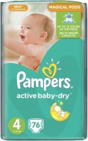 Фото - Подгузники Pampers Active Baby-Dry 4 / 76 pcs